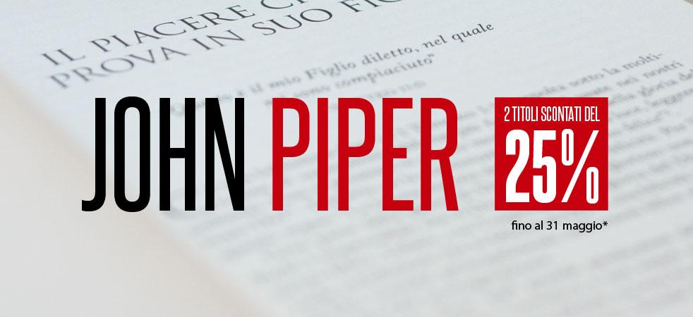 Promozione: due libri di John Piper