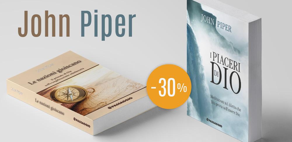 Due libri di John Piper – scontati del 30% | PASSAGGIO edizioni